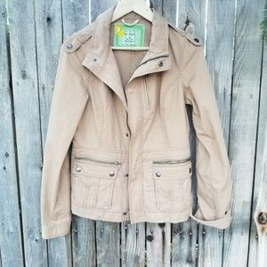 Free people  parka jacket  size 10
